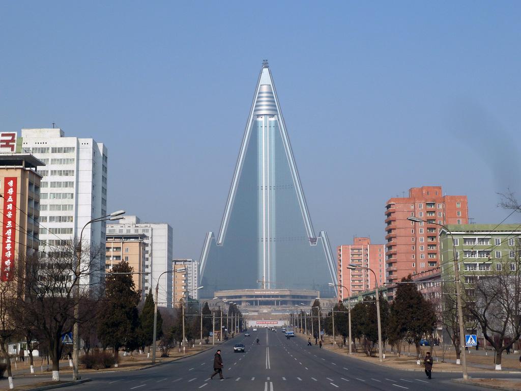 6. ryugyong hotel